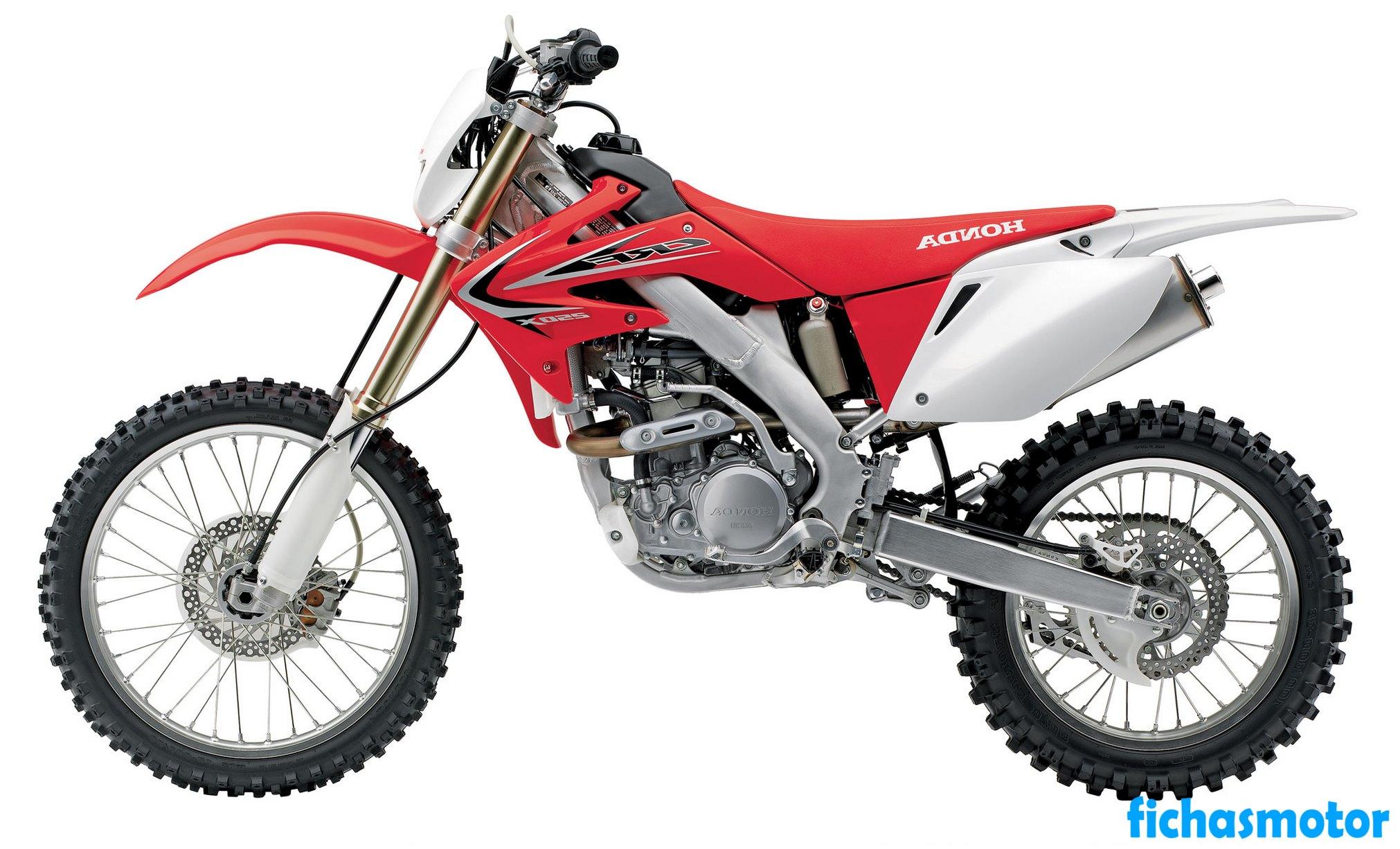Ficha técnica Honda crf250x 2013