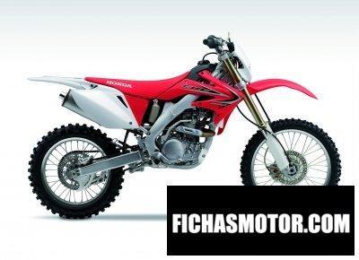 Ficha técnica Honda crf250x 2014