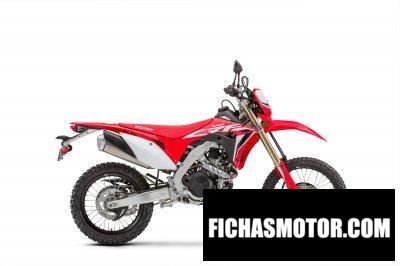 Imagen moto Honda CRF450L año 2020