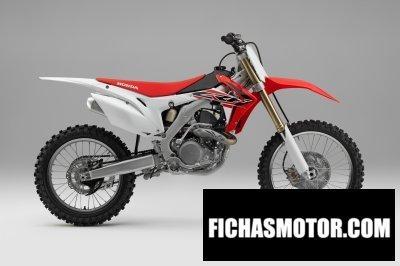 Ficha técnica Honda crf450r 2016