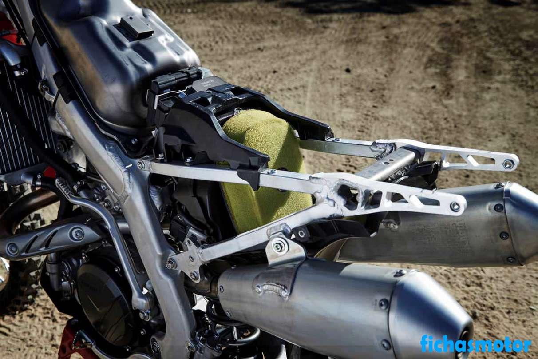 Ficha técnica Honda CRF450R 2020