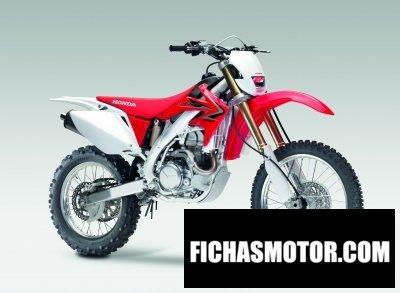 Ficha técnica Honda crf450x 2010