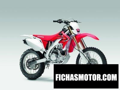 Ficha técnica Honda crf450x 2011