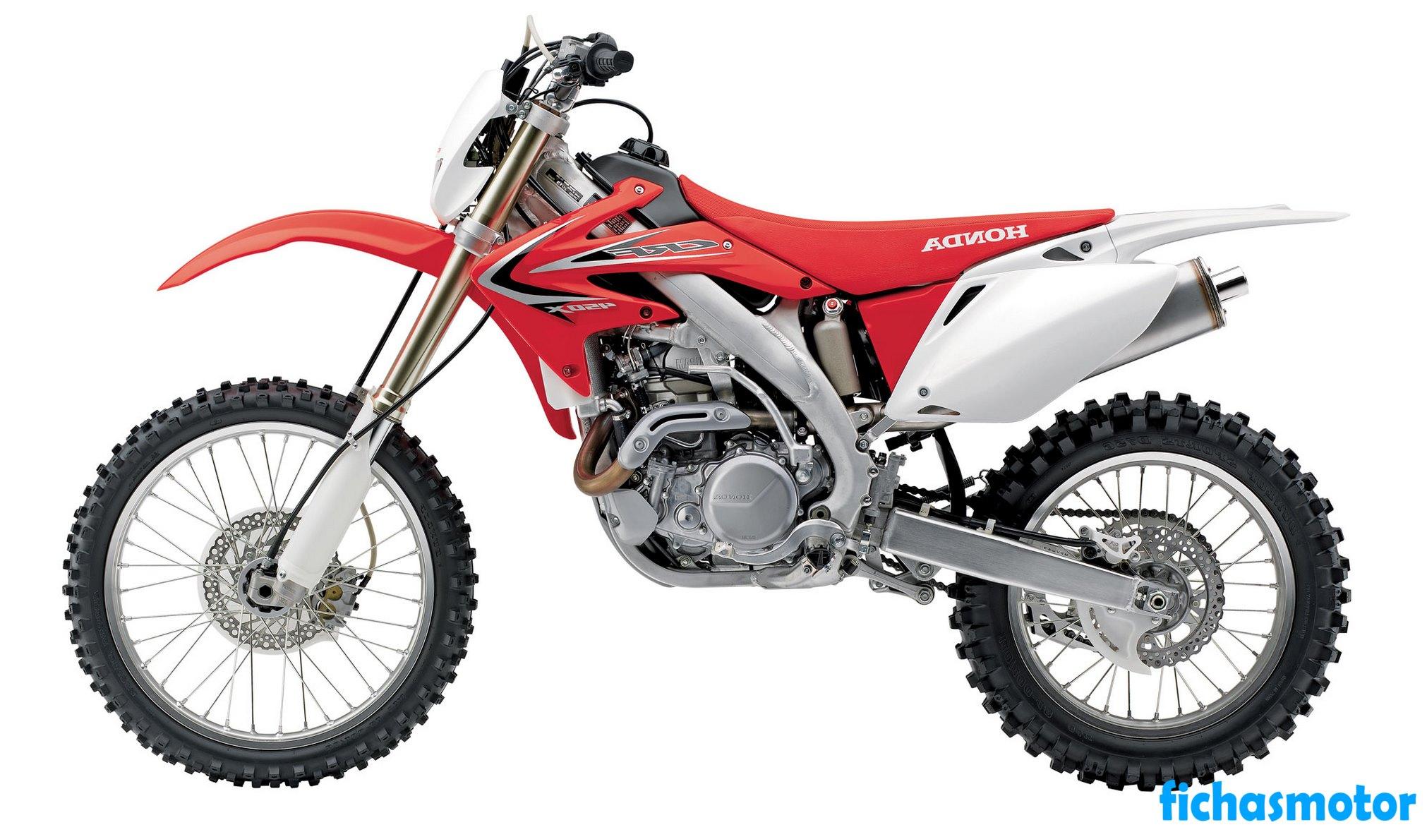 Ficha técnica Honda crf450x 2013