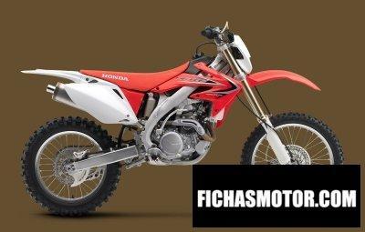 Ficha técnica Honda crf450x 2014