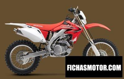 Ficha técnica Honda crf450x 2018