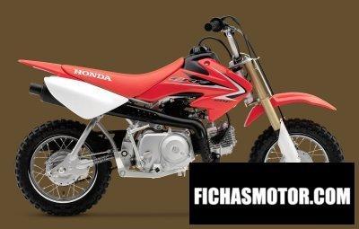Imagen moto Honda crf50f año 2010