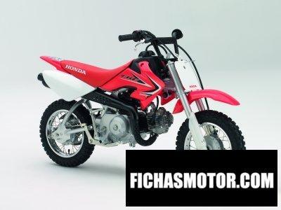 Ficha técnica Honda crf50f 2014