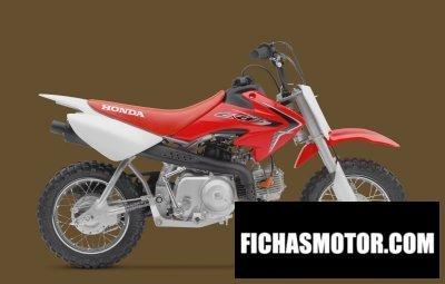 Imagen moto Honda crf50f año 2016