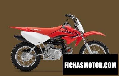 Imagen moto Honda crf70f año 2014