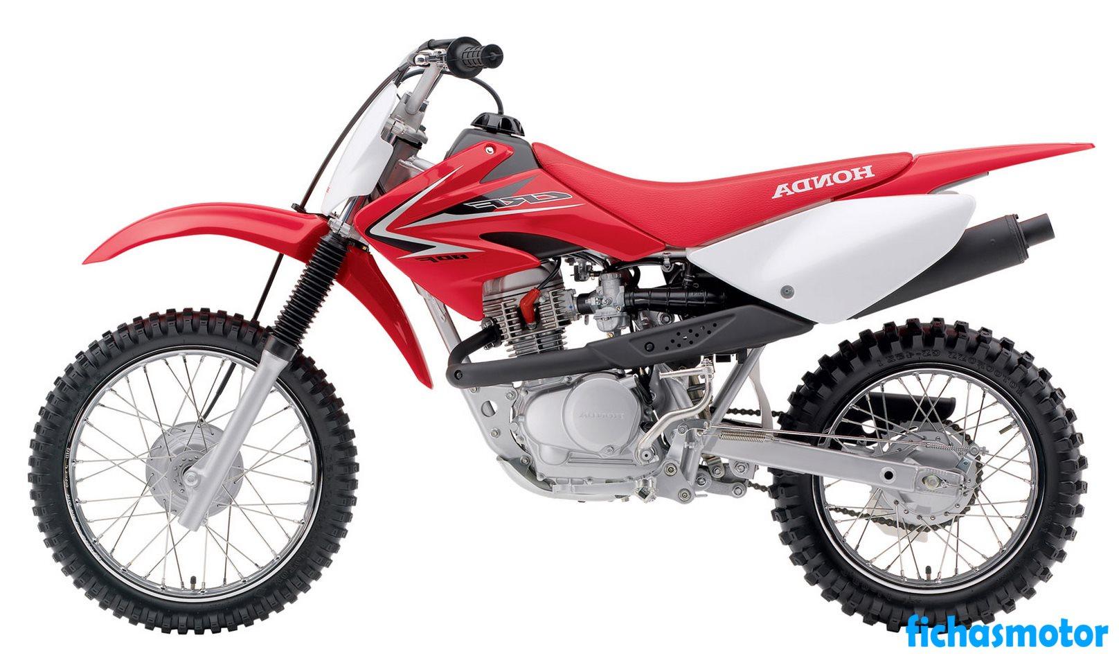 Ficha técnica Honda crf80f 2009