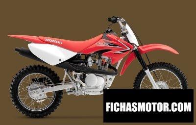 Ficha técnica Honda crf80f 2010