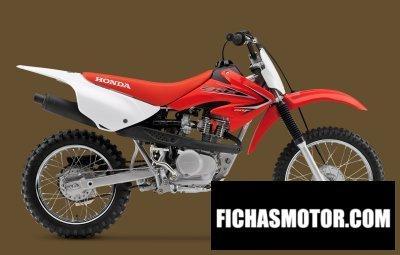 Ficha técnica Honda crf80f 2015