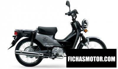 Imagen moto Honda cross cub año 2017