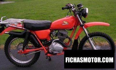 Imagen moto Honda ct 125 año 1977