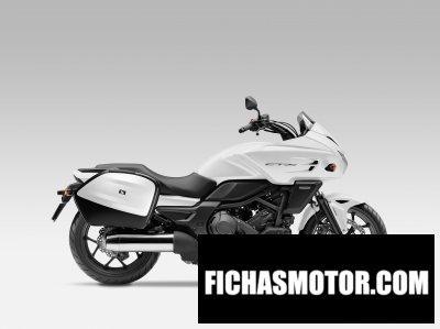 Imagen moto Honda ctx 700 año 2014