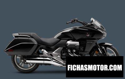 Ficha técnica Honda ctx1300 2015