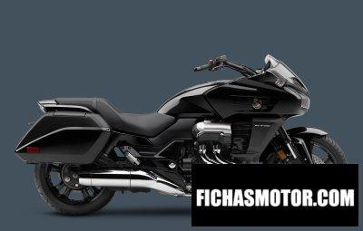 Ficha técnica Honda ctx1300 dlx 2014