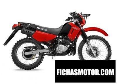 Imagen moto Honda ctx200 a bushlander año 2016