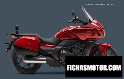 Imagen moto Honda ctx700 dct año 2018