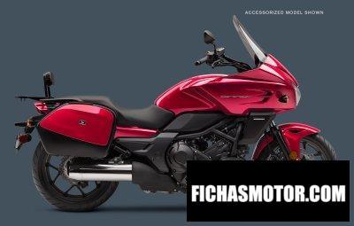 Ficha técnica Honda CTX700 DCT 2019