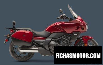 Ficha técnica Honda ctx700 dct abs 2014