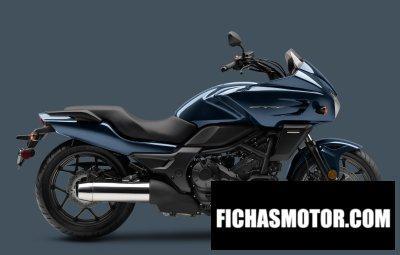 Ficha técnica Honda ctx700 dct abs 2015