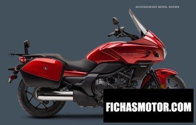 Ficha técnica Honda ctx700 dcx 2017