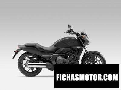 Ficha técnica Honda ctx700n 2014