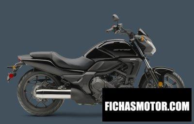 Ficha técnica Honda ctx700n dct abs 2014