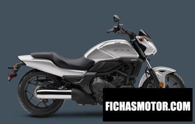 Ficha técnica Honda ctx700n dct abs 2016
