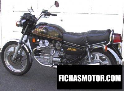 Ficha técnica Honda cx 500 1979