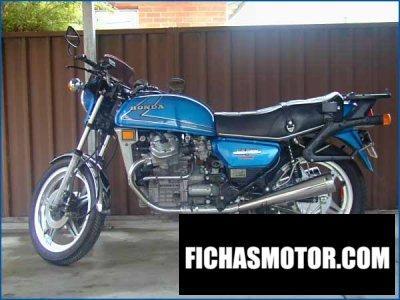 Ficha técnica Honda cx 500 1980