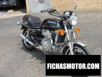Imagen moto Honda cx 500 año 1981
