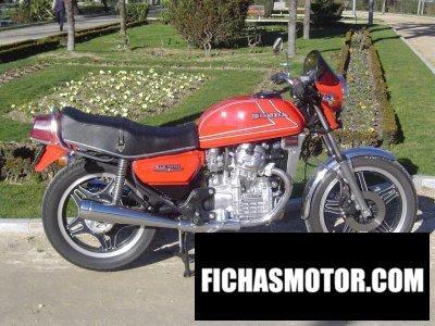 Ficha técnica Honda cx 500 1982