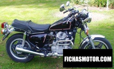 Ficha técnica Honda cx 500 c 1980