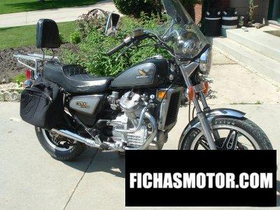 Ficha técnica Honda cx 500 c 1982
