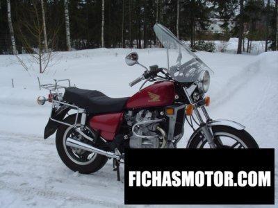 Imagen moto Honda cx 500 c año 1983