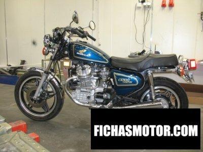 Ficha técnica Honda cx 500 Custom (reduced effect) 1979