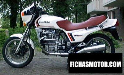 Ficha técnica Honda cx 500 e 1982
