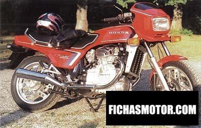 Ficha técnica Honda cx 500 e 1983