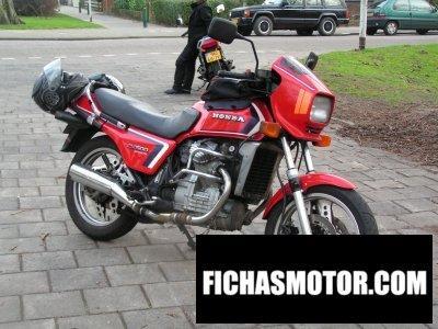 Ficha técnica Honda cx 500 e 1984