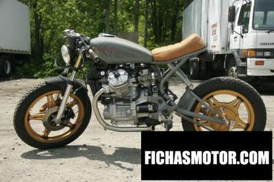 Ficha técnica Honda cx 500 (reduced effect) 1981
