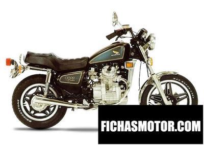 Ficha técnica Honda cx 500 sc 1983