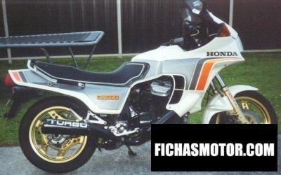 Ficha técnica Honda cx 500 turbo 1981