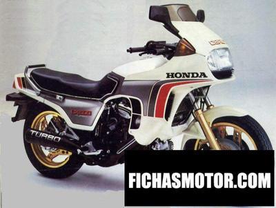 Ficha técnica Honda cx 500 turbo 1983