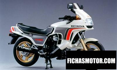 Ficha técnica Honda cx 500 turbo 1984