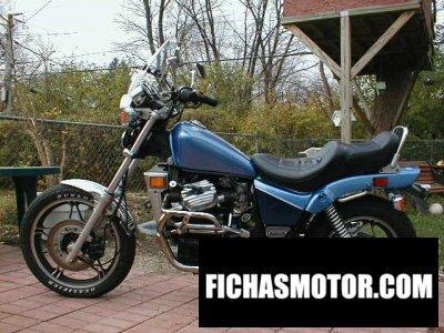 Ficha técnica Honda cx 650 c 1983
