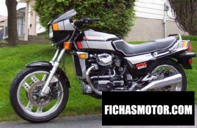 Ficha técnica Honda cx 650 e 1983
