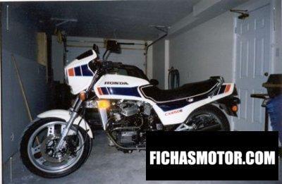 Imagen moto Honda cx 650 e año 1984